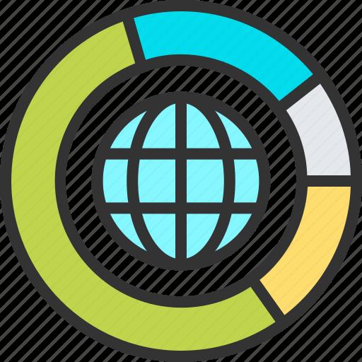big, business, chart, data, internet, network, storage icon