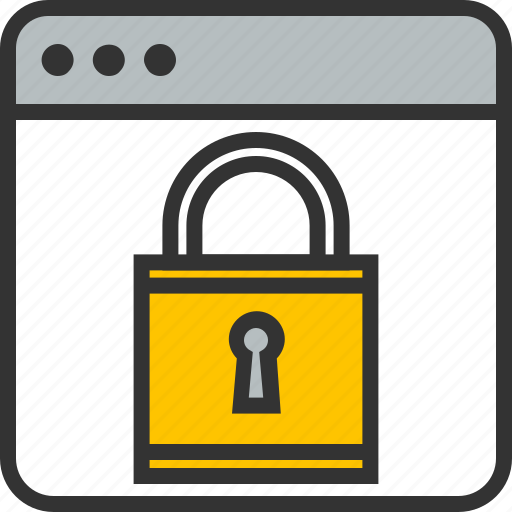 data, lock, protection, secuity, secure, security, web icon