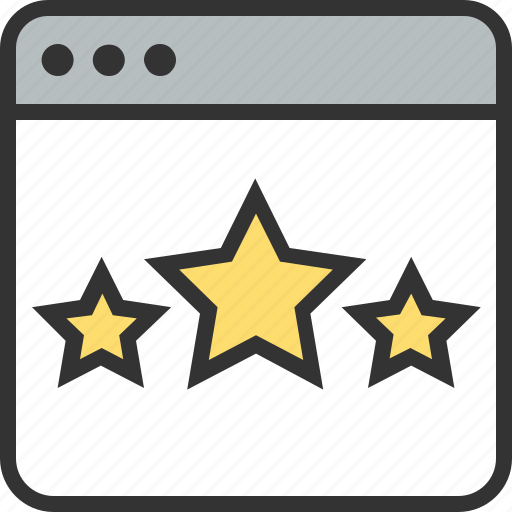 design, marketing, page, quality, site, stars, web icon