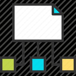 content, guide, map, navigation, site, web icon