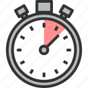 analyzer, optimization, speed, stopwatch, time, timer, watch icon