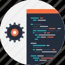 application, code, coding, development, program, software, settings