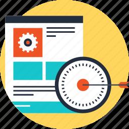 development, optimization, performance, search, seo, web, website icon