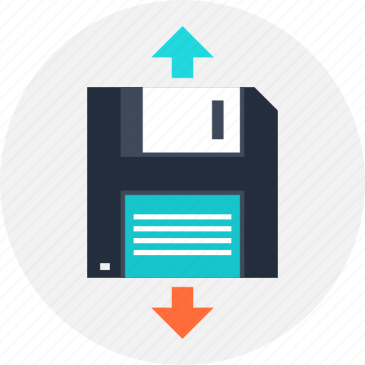 backup, data, disk, diskette, floppy, save, storage icon