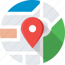 gps, local seo, location, map pin, navigation icon