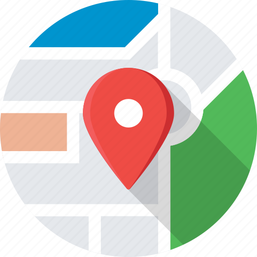 gps, local seo, location, map pin, navigation icon