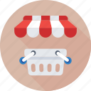 basket, ecommerce, eshop, shopping, store icon