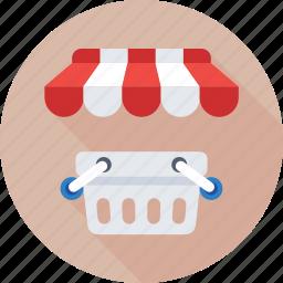 basket, ecommerce, eshop, shopping, store icon
