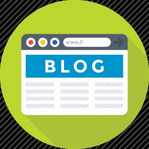 article, blog, blogging, content, website icon