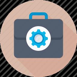 bag, briefcase, portfolio, tool kit, toolbox icon
