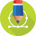 design tool, designing, graphic, pencil, photoshop icon