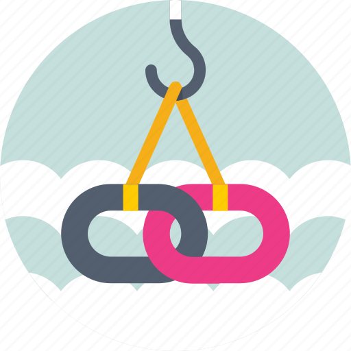 chain, link, link building, seo, url icon