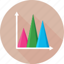 analytics, chart, graph, infographic, statistics icon