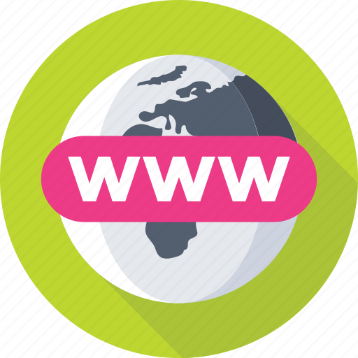 domain, globe, internet, url, www icon