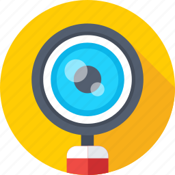 loupe, magnifier, magnifying glass, search glass, search web icon