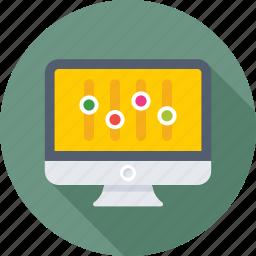 configuration, control, monitor, setting, tweaks icon