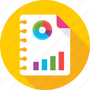 analysis, business report, graph, report, sales report icon