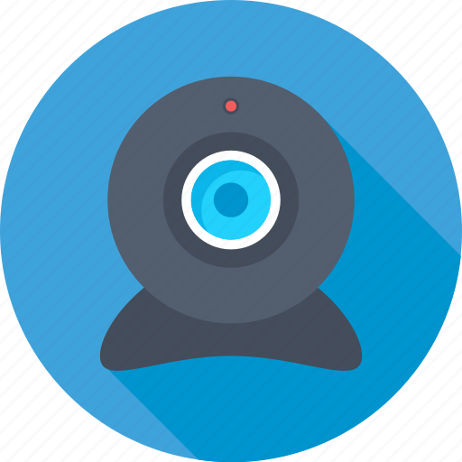 camera, video chat, video conference, web camera, webcam icon