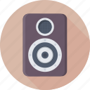 electronics, music, speaker, subwoofer, woofer icon