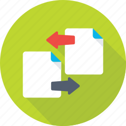 documents, file exchange, file share, file transfer, files icon