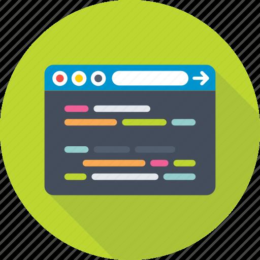 coding, development, php, programming, script icon