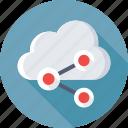 cloud computing, cloud storage, icloud, share cloud, technology icon