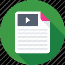 film, movie, sem, video, video marketing icon