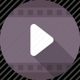 media, media player, movie, multimedia, video player icon