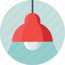 bulb, ceiling light, electric, light, lightning icon