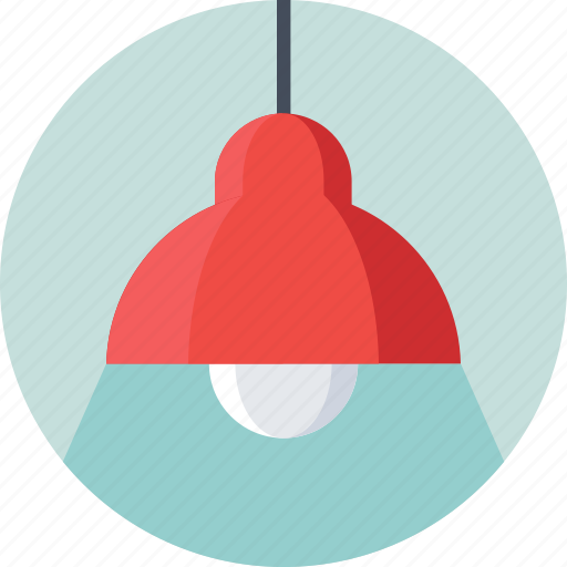 bulb, ceiling light, electric, light, lightning icon
