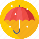 canopy, insurance, parasol, rain, umbrella icon