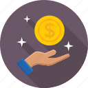credit, dollar, donation, loan, payment icon