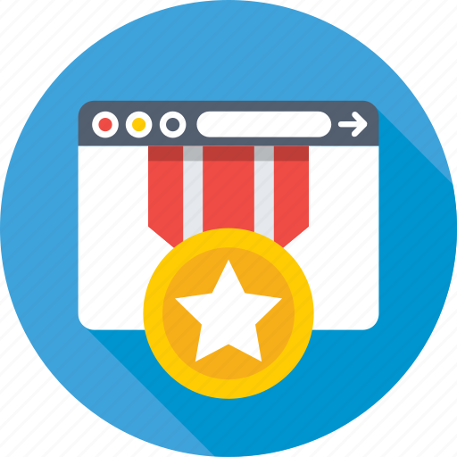 certified web, ranking, rating, seo, web promotion icon