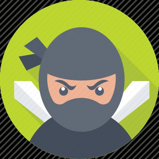 detective, hacker, incognito, ninja, spy icon