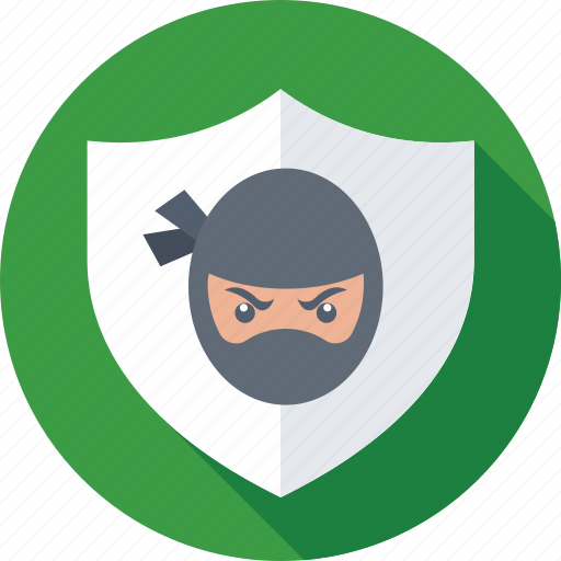 defence, ninja, protection, security, shield icon