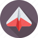 mail, message, origami, paper plane, send icon