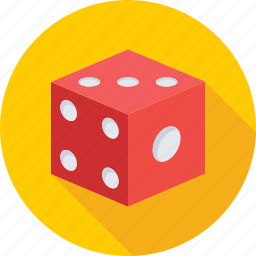 casino, cube, dice, gambling, game icon