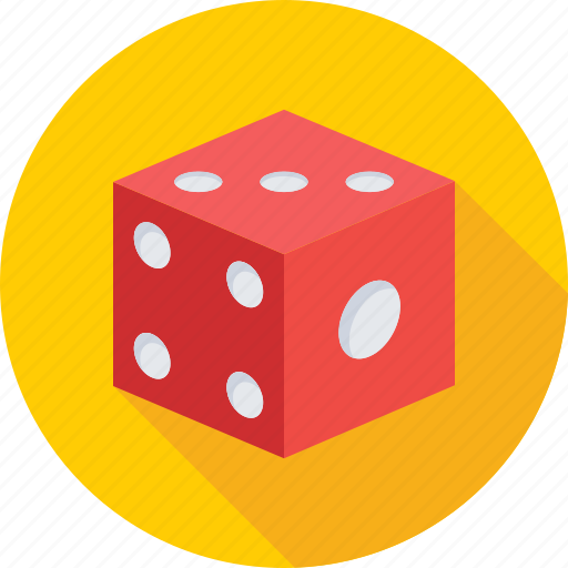 casino, cube, dice, gambling, game icon