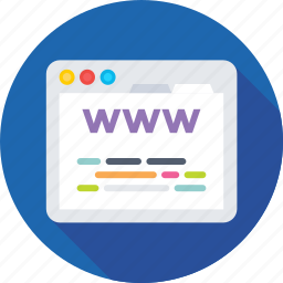browser, internet, webpage, website, www icon