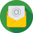message, envelope, email, letter, inbox icon