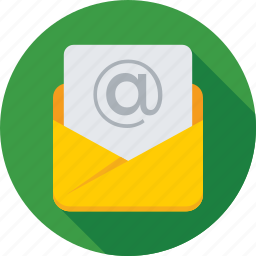 email, envelope, inbox, letter, message icon