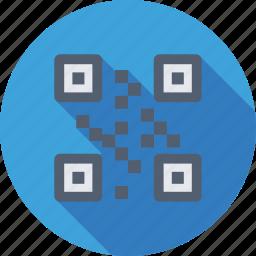 barcode, matrix barcode, qr code, quick response code, upc icon