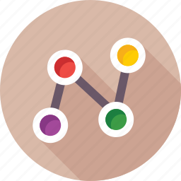 connection, network, share, share button, social network icon