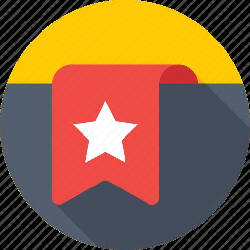 bookmark, favorite, insignia, mark, ranking icon
