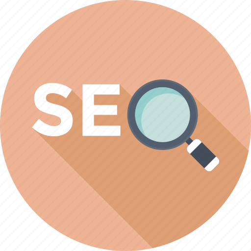 magnifier, marketing, optimization, search engine, seo icon