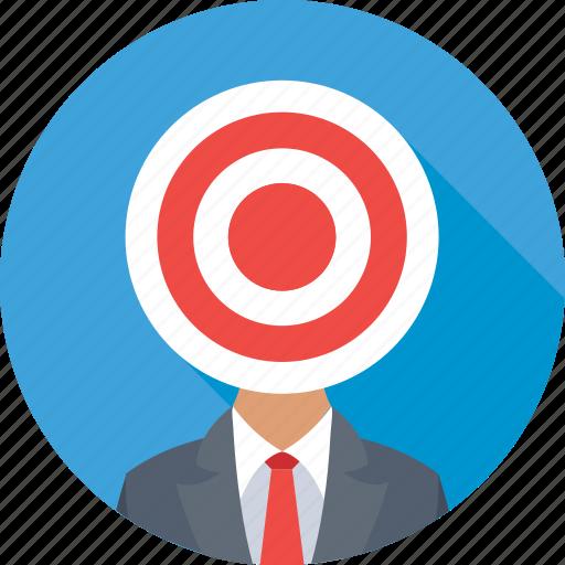 bullseye, customer, marketing, seo, target user icon