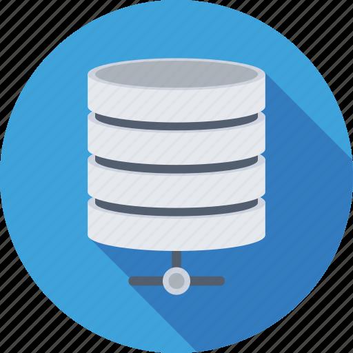 database, hosting, network, server, server connection icon