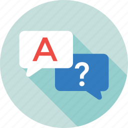 chat bubble, faq, live chat, questionnaire, support icon