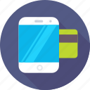 banking, commerce, credit card, mobile, mobile banking icon