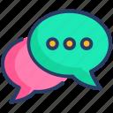 engagement, seo, social icon